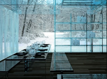 Glass Concept Home by Santambrogiomilano