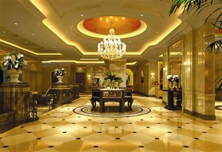 上海,尚海湾, 五星酒店式大堂