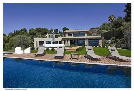 Cannes Californie游泳池