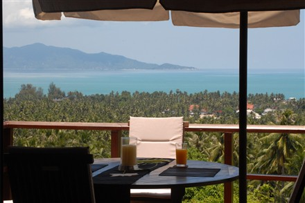 Breakfast table thailand