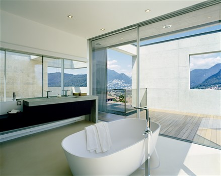 现代化别墅浴室