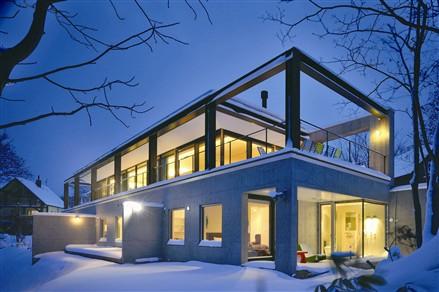 japan glass house