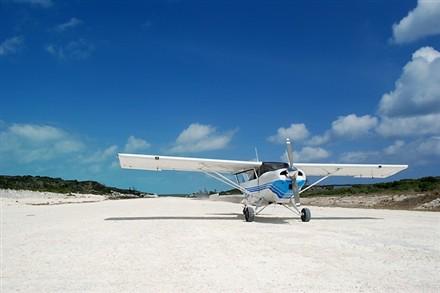 Private Island plane