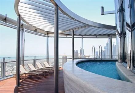 pool deck burj khalifa