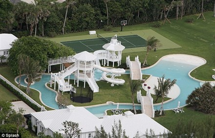 florida houses on the water. celine dion florida mansion houses on the water