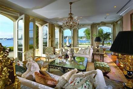 Bayfront Mansion Newport Beach Interior