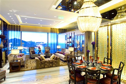 larvotto hong kong living room