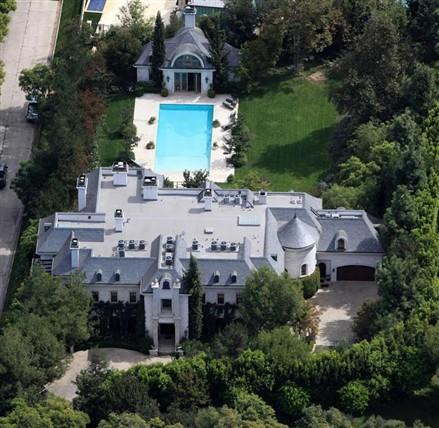 Holmby Hills Mansion Michael Jackson