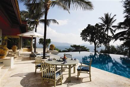 Oceanfront Villa Nai Thon