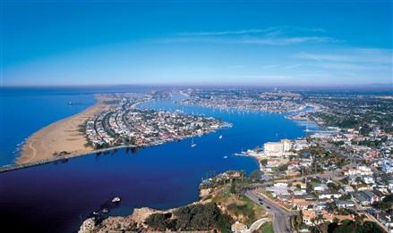 加利福尼亚州新港海滩