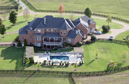 Sheryl Crow Nashville Mansion