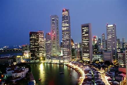 singapore real estate prices