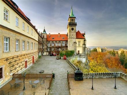 castle Hrubá Skála East Bohemia Czech Republic