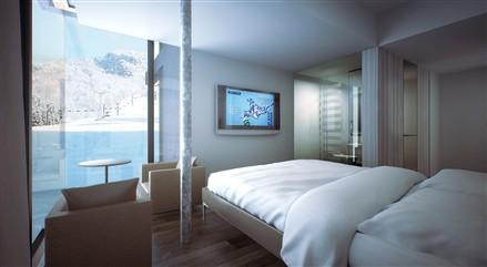 Rocks Niseko Resort bedroom