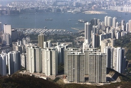 Hong Kong property bubble