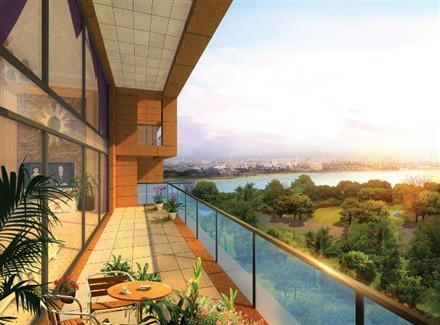 viewing balcony