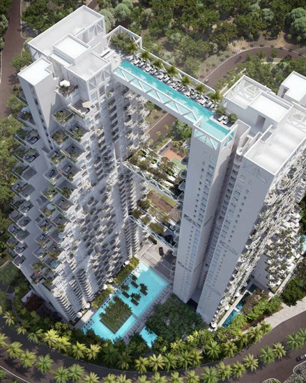 Bishan Central Singapore Moshe Safdie Architecture