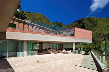 Vila Castela Residence terrace Nova Lima Brazil