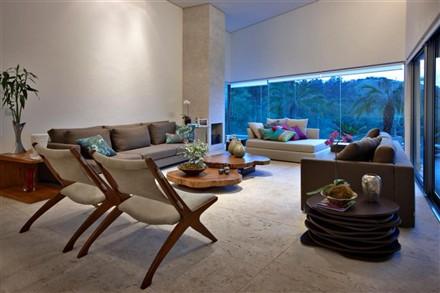 Vila Castela Residence interior Brazil