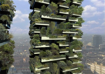 Bosco Verticale An Urban Forest Grows In Milan PropGoLuxury