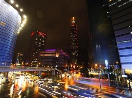 Taiwan financial district