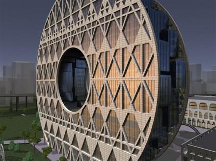 lucky coin building Guangzhou