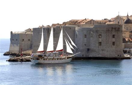 Gulet in Dubrovnik