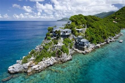 一座英國維爾京群島房地產開價1500萬美元
