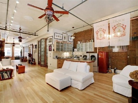 Whoopi Goldberg Soho loft
