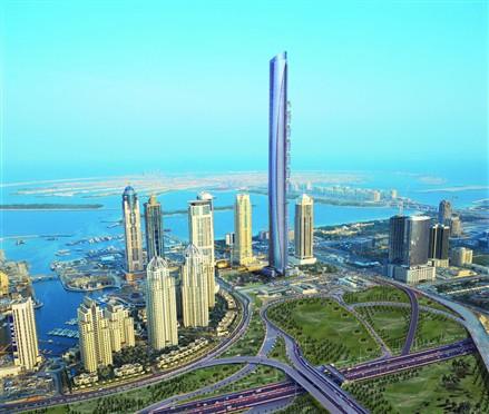 architectural firm aedas is proposing to build the pentominium dubai