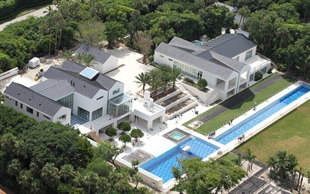 Tiger Woods on Tiger Woods S Home In Jupiter Island  Florida   60 Million Luxurious