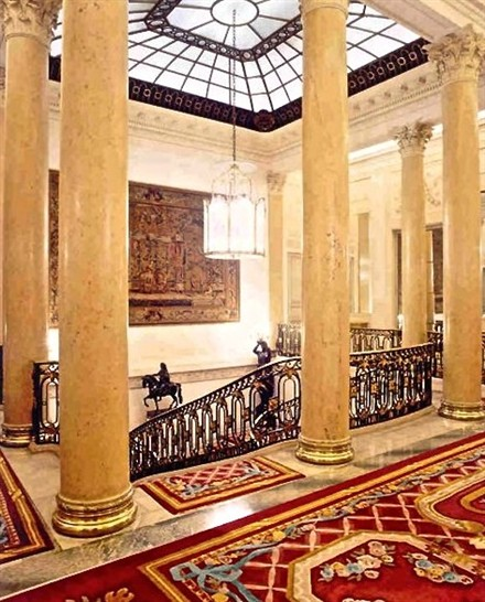 luxurious private mansion Paris