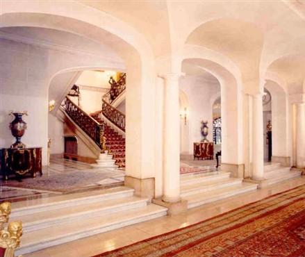 luxurious private mansion Paris Avenue Foch